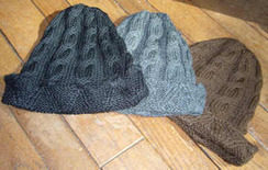 Photo of Alpaca Cabled Hats - Discounted!