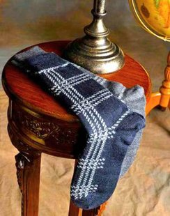 Photo of Alpaca Argyle Dress Sock