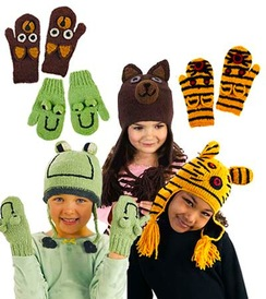 Photo of 100% Alpaca Animal Hats for Children