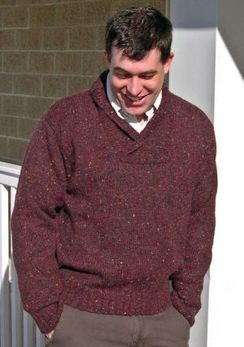 Photo of Rustic Lodge Open-Collar Pullover