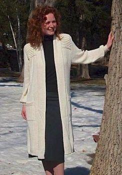 Photo of Alpaca Sweater-Coat
