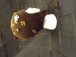 Photo of Child's Patchwork Earflap Hat