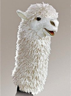 Photo of Alpaca Hand Puppet
