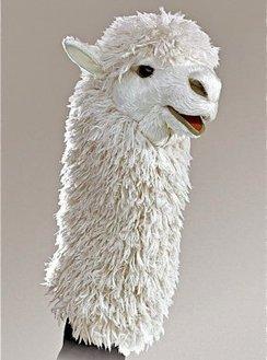 Photo of Alpaca Hand Puppet