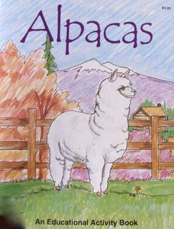 Photo of Children's Alpaca Activity Book  
