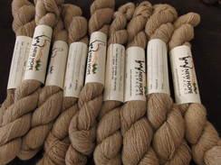 Photo of Light Fawn Suri Alpaca Yarn