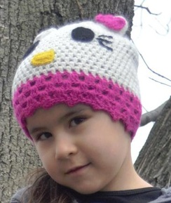 Photo of Alpaca Kids Kitty Hat