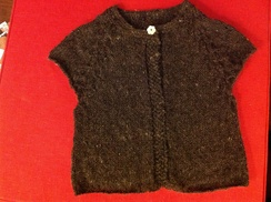 Photo of 100% alpaca hand knitted cardigans