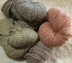 Photo of Swirled Blend Alpaca Yarn