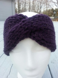 Photo of Alpaca Headband with a Twist