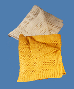 Photo of Alpaca Knit Scarves