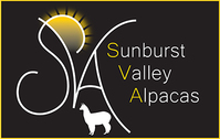 Sunburst Valley Alpacas - Logo
