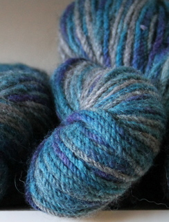 Photo of Rosehaven Signature Yarns in 3 shades