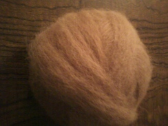 Photo of 100% Fawn Alpaca Roving (8 available)