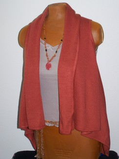 Photo of Alpaca and Silk Dragon fly vest