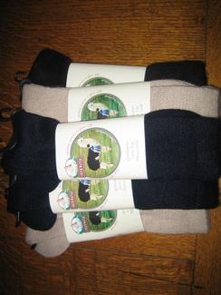 Photo of Gentleman's Loosetop Alpaca Socks