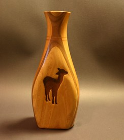 Photo of Walnut, Cherry & Chinese Chestnut Vase