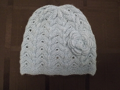 Photo of Lace Flower Alpaca Hat
