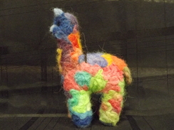 Photo of Felted Alpaca Ornament