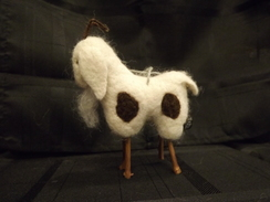Photo of Felted Billy Goat Ornament