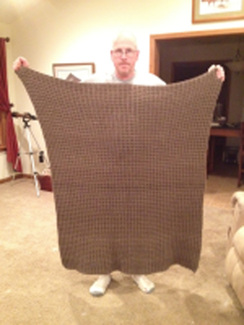 Photo of 100% Alpaca Throw Hand Made