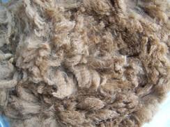 Photo of Raw blanket fleece-dark fawn