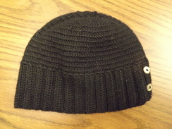 Photo of Sophia Button Alpaca Hat