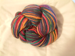 Photo of Hand Painted Yarn - Pizzaz
