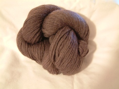 Photo of Heathered Yarn - Plum