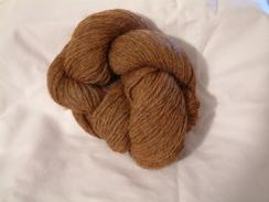 Photo of Heathered Yarn - Chestnut