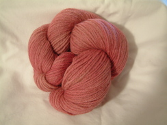 Photo of Heathered Yarn - Rose