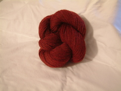 Photo of Heathered Yarn - Cranberry