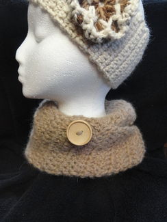 Photo of Alpaca Neck Cowl