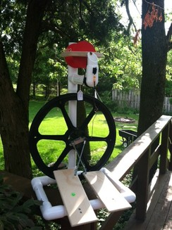 Photo of Spinning Wheels Babe Fiber Starter