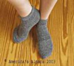 Photo of Extreme Alpaca Slipper Sock