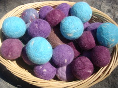 Photo of Felted Alpaca Dryer Balls
