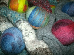 Photo of Felted Wool Dryer Balls