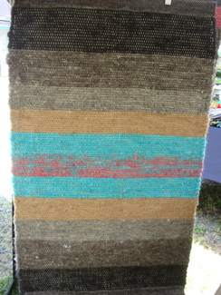 Photo of Alpaca Hand Woven Rug