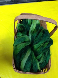 Photo of Roving- Green