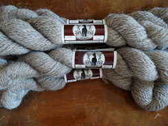 Photo of 100% Llama Yarn (Lt. Silver Gray)
