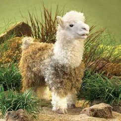Photo of Alpaca Puppet (Full Body)