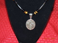 Photo of Sterling Paca and Pyranese Necklace