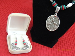 Photo of Sterling Necklace and Earring set