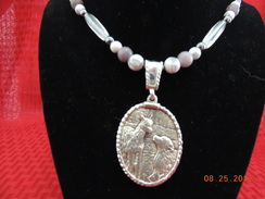 Photo of Sterling Paca and Pyr Necklace 5