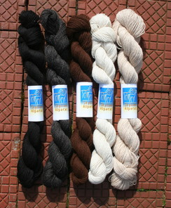 Photo of 100% Alpaca Lace Weight Yarn
