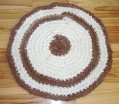 Photo of Crochet Alpaca Rug
