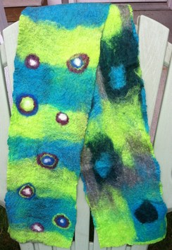 Photo of Learn to Make an Alpaca Felt Scarf