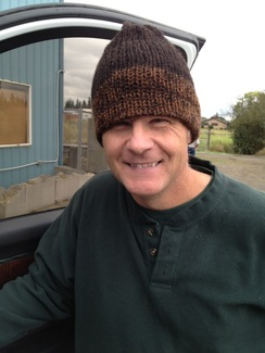 Photo of 100% Alpaca Knitted Hats from our farm