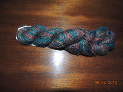 "Photo of ""Smokey Mountain"" Handpainted Yarn"