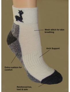 Photo of MC Athletic Sport Socks w/alpaca design